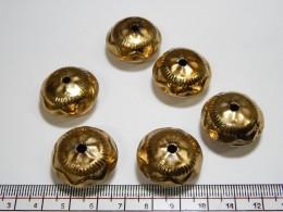 Gold Metal Beads 13