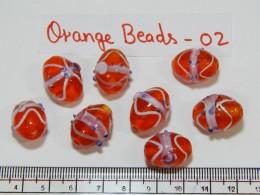 Orange Beads 02