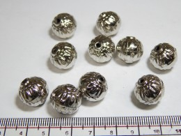 Silver Metal Beads 106
