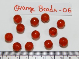Orange Beads 06