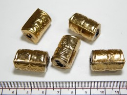 Gold Metal Beads 14